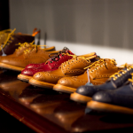 Gluing shoe soles